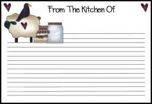 recipe template free recipe card template beepmunk
