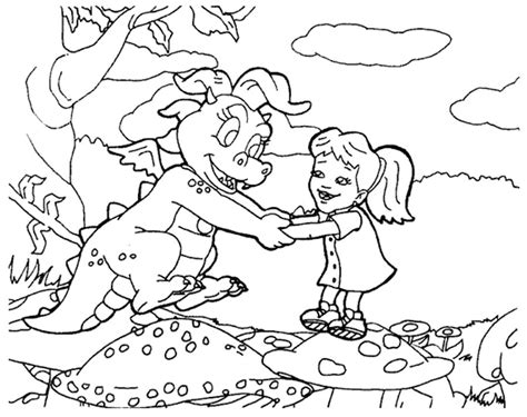 coloring pages dragon tales coloring activity pages cassie emmy coloring page