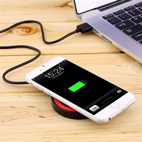 Wireless Mobile Charger high quality cell phone mini qi mobile wireless charger