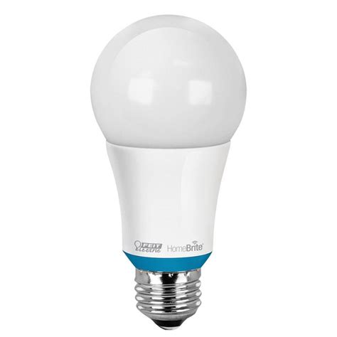 Feit Electric 60w Equivalent Soft White A19 Dimmable Led Bluetooth Light Bulb