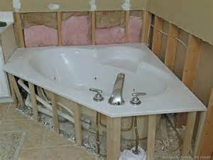 Updating tub surround uniquely yours or mine