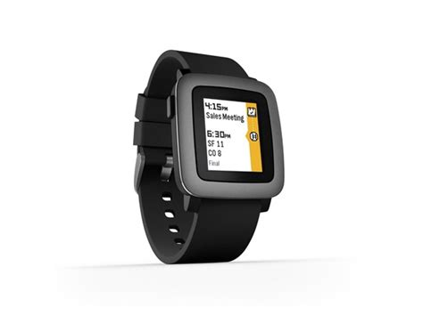 Smartwatch Ios 7 pebble time smartwatch ios android compatible