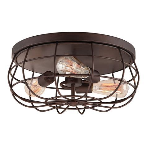 millennium lighting 5323 neo industrial flush mount