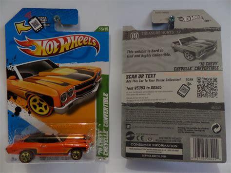 Hotwheels Bond Paket 2 Pcs wheels 2012 treasure hunt 70 chevy chevelle convertible indohotwheels