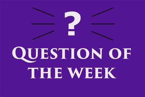 Link Of The Week by Lancer Link Question Of The Week How Do You Think Asb