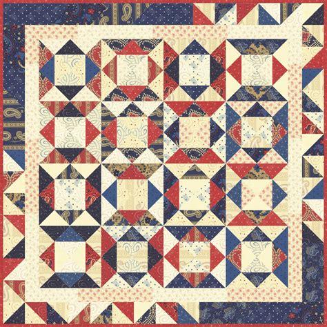 Quilt Kits Moda Frivol 2 Polka Dots Paisleys By Minick