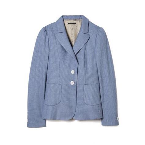 gucci ufficio sta giacca in poliviscosa tinto filo revers stondati e tasche