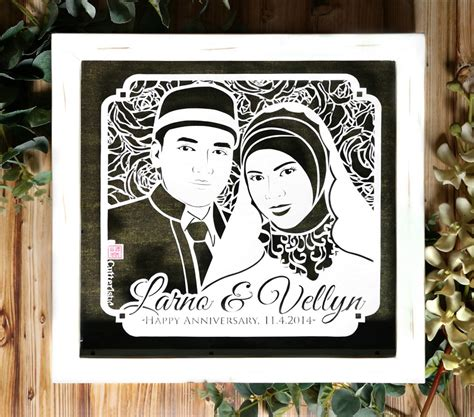 Kado Unik Ulang Tahun Anniversary Wedding Dll larno dan vellyn cutteristic