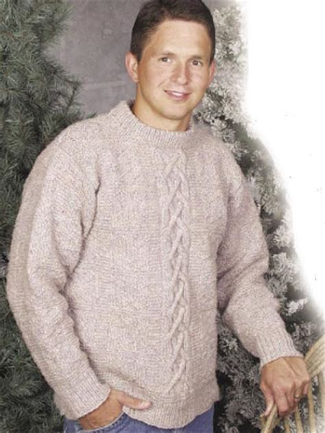 free knit pattern mens sweater craftdrawer crafts a great collection of knitting