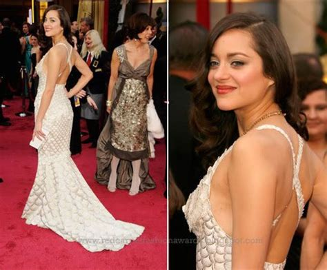 Marion Cotillards Oscar Dress From Runway To Carpet by 2015 Nominees Carpet Record Marion Cotillard At The
