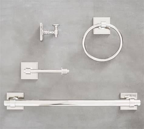 pottery barn bathroom fixtures eggshell home pottery barn pearson bath hardware fixtures