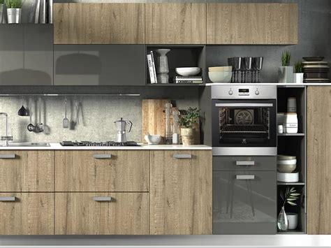 cucina in rovere grigio cucina moderna rovere grigio home interior idee di