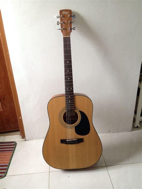 Jual Softcase Gitar Akustik Bandung dijual gitar akustik cort ad850 ns fikri rasyid