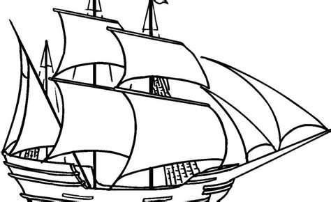 how to draw the mayflower boat mayflower ship drawing at getdrawings free for