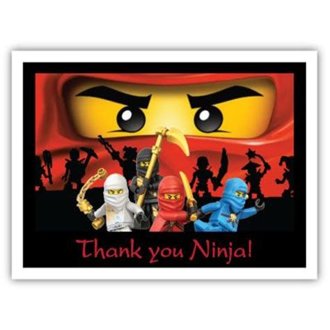 free printable ninjago thank you cards 22 best images about lego thank you cards on pinterest
