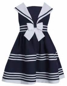 Bonnie jean little girls sailor dress sleeveless sold out