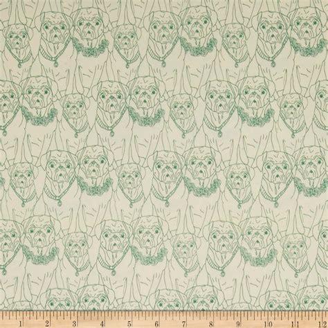 pug print material pug fabric pug print fabrics doggiechecks