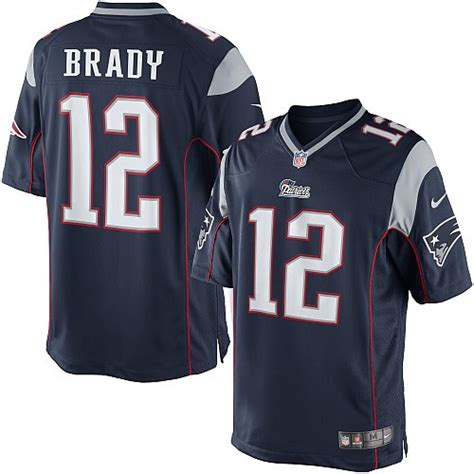 nfl new patriots limited navy blue home nike