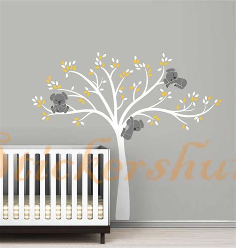 tree wall stickers australia large koala tree wall decals auall450 78 00 wall stickers australia