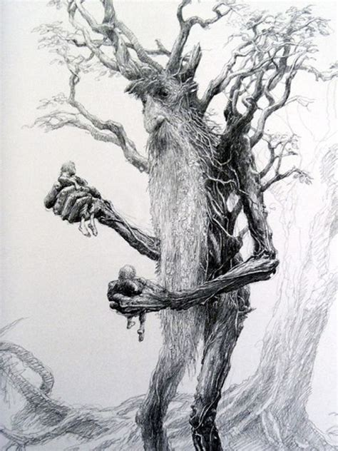 pin by laurence mence on sketches pinterest posts treebeard pencil drawing art artist unknown j r r
