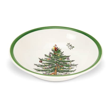 spode christmas tree cereal or oatmeal bowl 16 you save