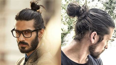 top knot mens hairstyles man bun top knot haircuts for men top 10 best man bun