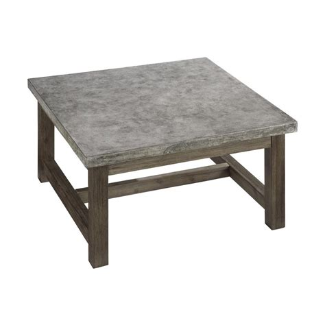 36 square end table shop home styles concrete chic 36 in w x 36 in l square