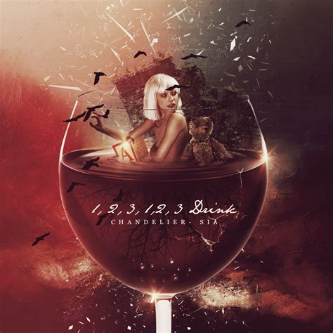 Chandelier Album Chandelier Sia Album Cover Fanart On Behance