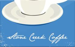 Roasters Coffee Gift Card - buy stone creek coffee roasters gift cards raise