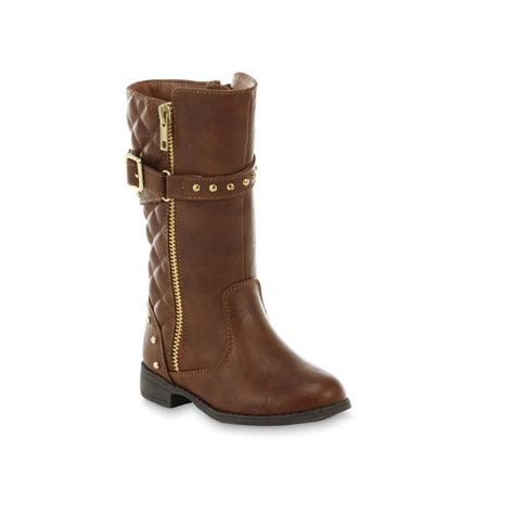 boots for toddler piper toddler s shire brown boots kmart