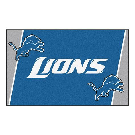 Detroit Lions Rug by Detroit Lions Rug Roselawnlutheran