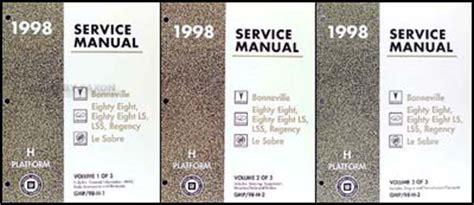 service manual repair manual 1998 oldsmobile lss download 1998 olds 88 and ls lss regency shop manual set oldsmobile repair service books ebay