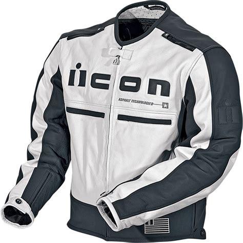 white motorbike jacket icon motorhead leather motorcycle jacket white