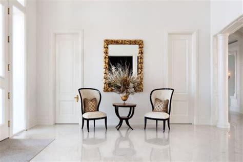 Entrance Foyer Decorating Ideas How To Arrange Chairs In A Reception Hallway
