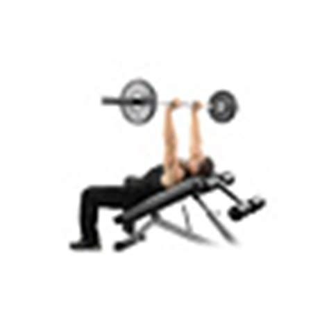 incline close grip bench ejercicios para triceps