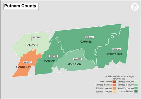 Putnam County Ny Property Records Map Of Putnam County New York New York Map