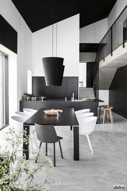 comedor blanco y negro salas y comedores modernos en negro y blanco decoraci 243 n