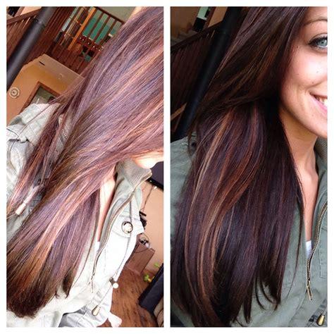 dark brown hair with blonde highlights diy dark auburn hair with caramel highlights blonde gold hair