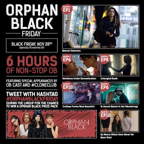 black friday fan orphan black friday fan faves bbc america