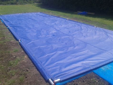 pit screen covers jump sand pit cover landing pits covers