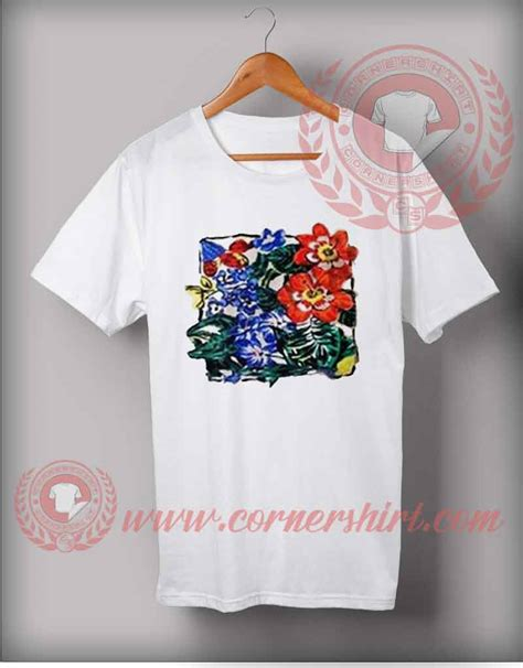 Bl7750 Flower Vintage Shirt vintage flower t shirt cheap custom made t shirts by cornershirt