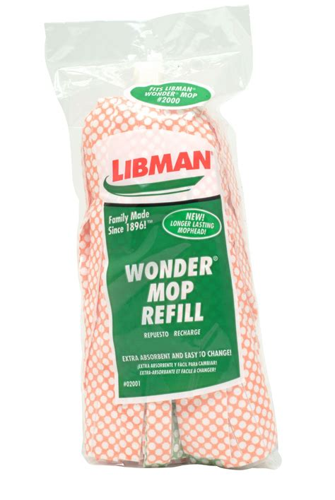 Refill Spray Mop T1910 2 libman mop refill food grocery cleaning