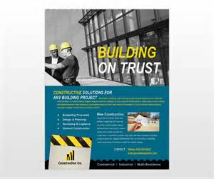 construction flyer templates free 14 industrial poster psd template images environmental