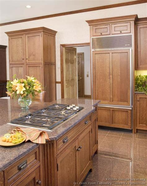 medium brown kitchen cabinets pictures of kitchens traditional medium wood cabinets brown kitchen 54