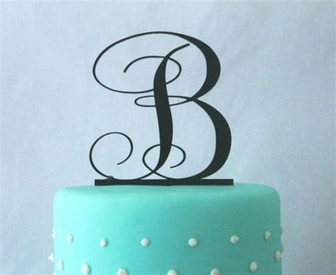5 Letter Words N A S T Y 3 quot 4 quot 5 quot 6 quot or 7 quot monogram wedding cake topper in any