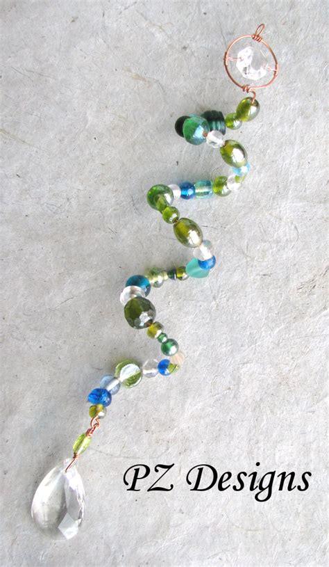 bead suncatcher silver serpent studio s beaded suncatchers beyond