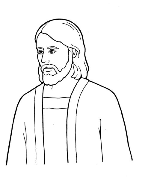 coloring pages jesus christ lds sacrament coloring pages