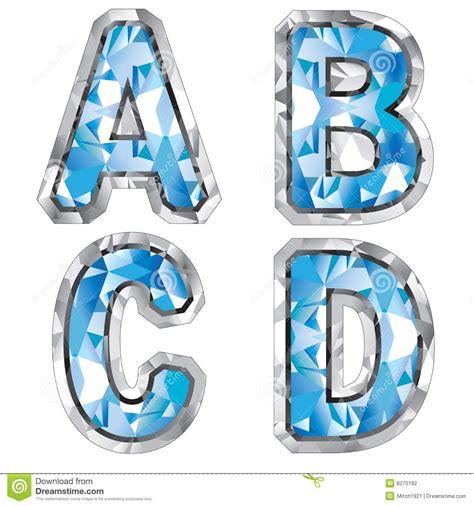 gem letter a b c d stock photography image 8270182
