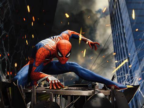 wallpaper spider man  games