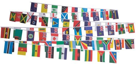 flags of the world print out print out the commonwealth country flag bunting
